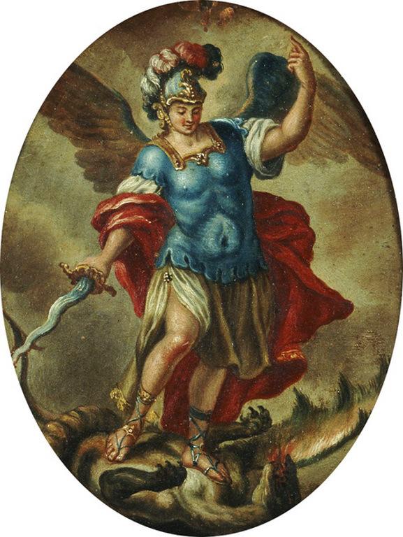 Archangel Michael by Panagiotis Doxaras, c. 1700
