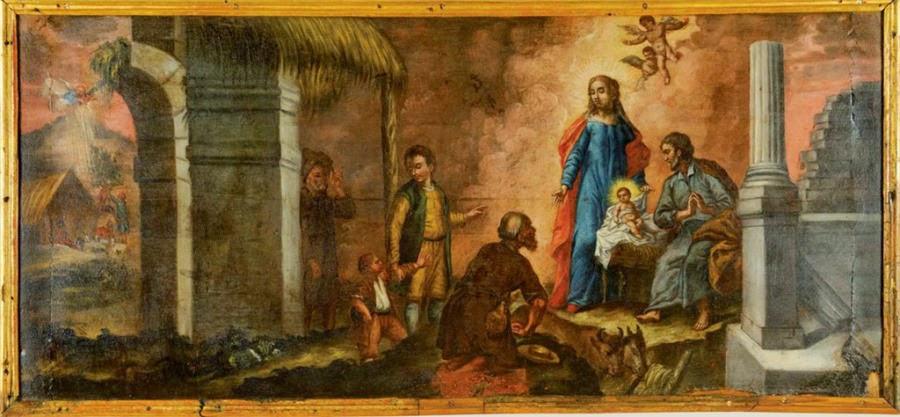 The Adoration of the Shepherds, Nikolaos Koutouzis, c. 1780