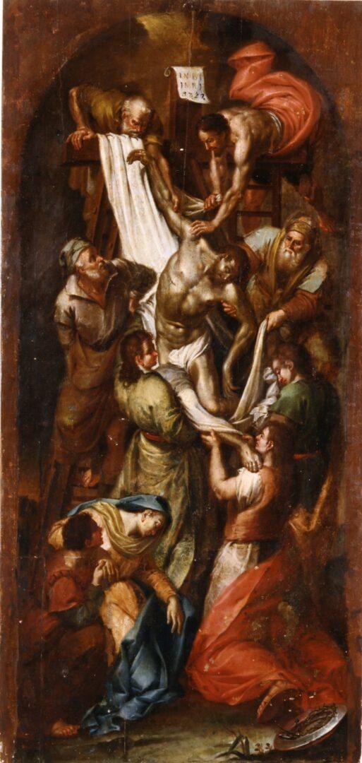 The Descent from the Cross, Nikolaos Koutouzis, c. 1790