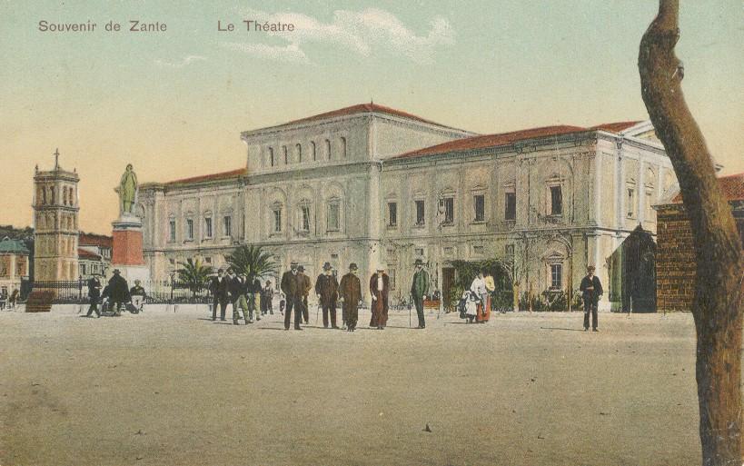 Zakynthos Solomos Square 1917