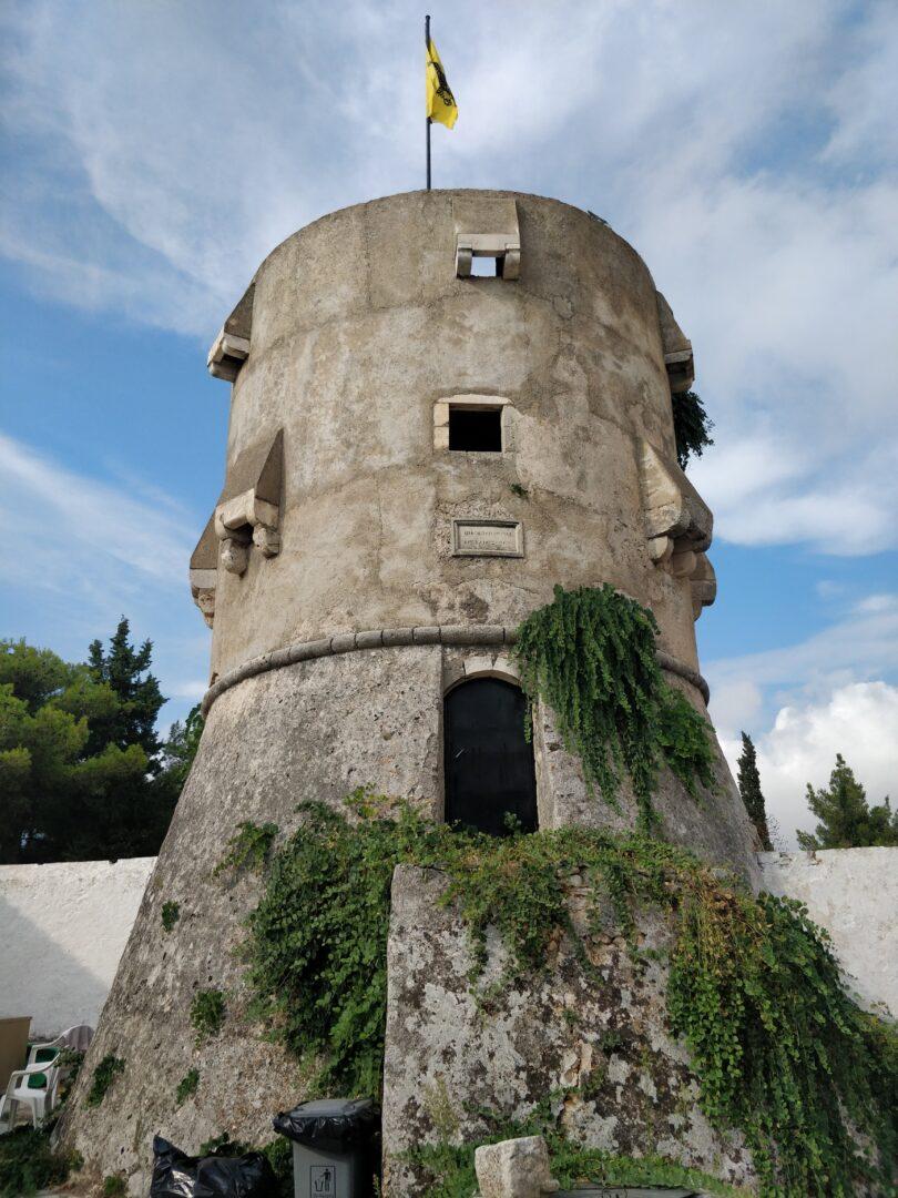 Agios Georgios Krimnon monastery tower, 1535
