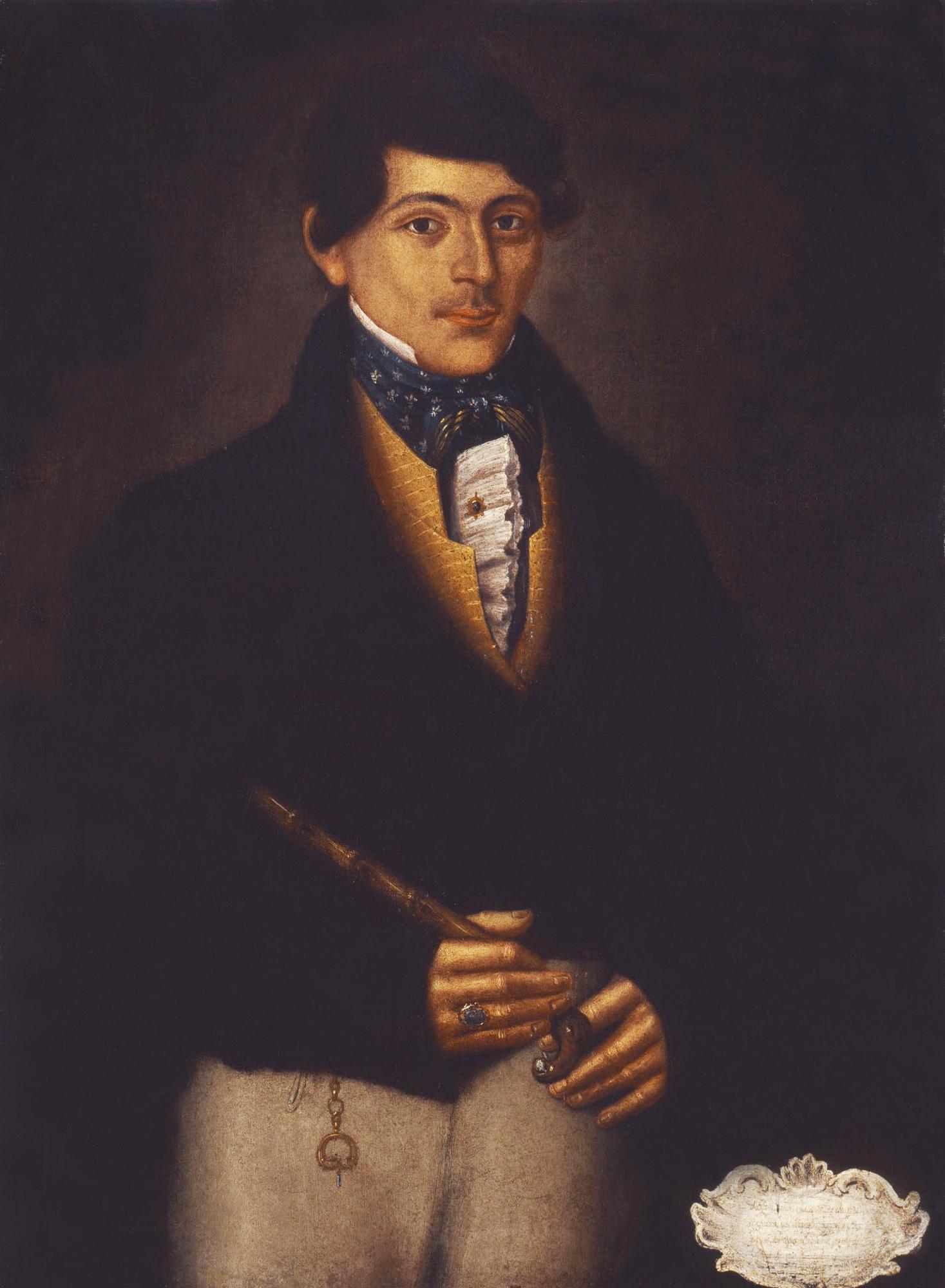 Kyriakos Xoraphas by Ioannis Korais (the younger), 1826