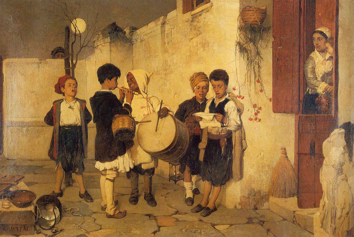 Lytras Nikiforos, Carols (1872)