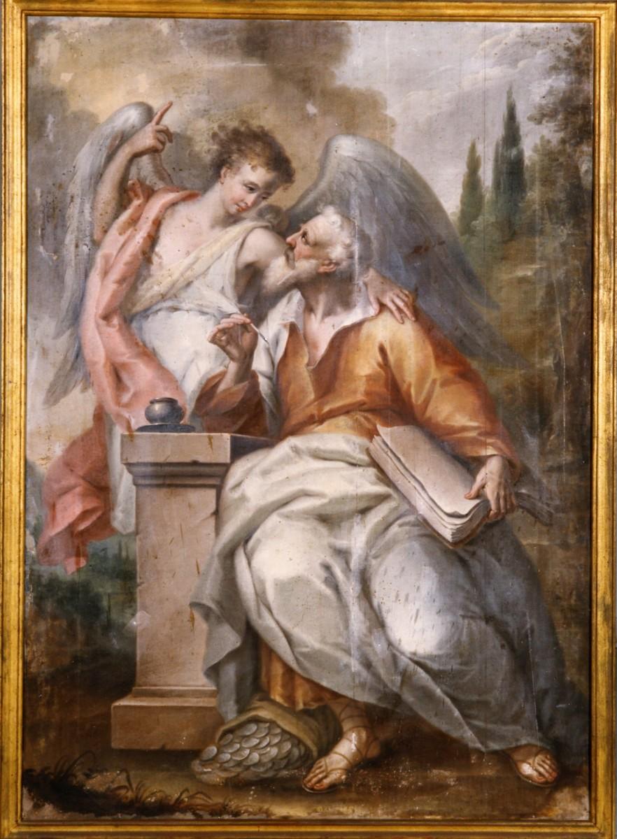 Matthew the Evangelist by Nikolaos Kantounis, c. late 18th/early 19th century