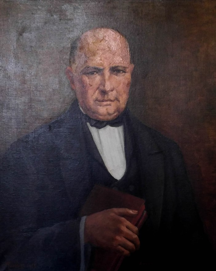 Portrait of Panagiotis Stefanou by Xristos Rousseas, c. 1825