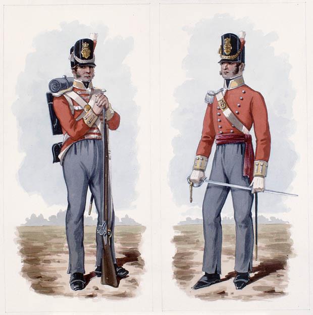 The British capture 1809