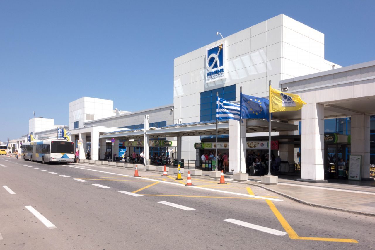 Eleftherios Venizelos Airport in Athens