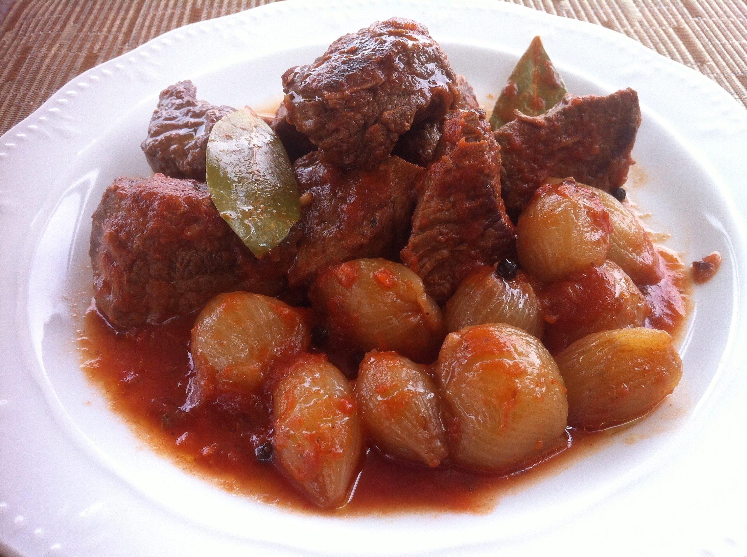 Rabbit Stew (Stifado)